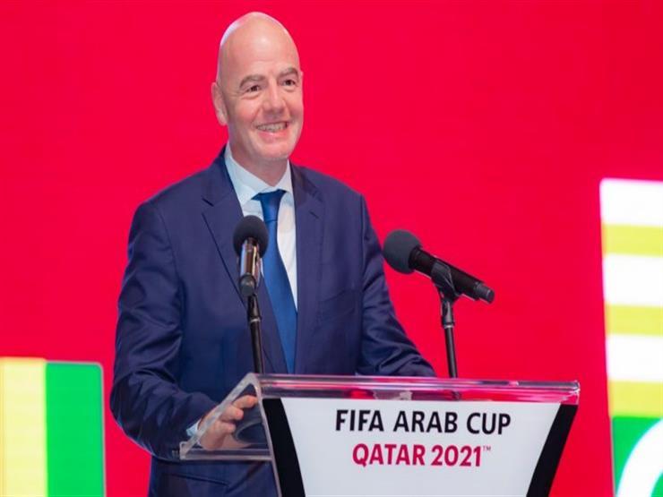إنفانتينو: كأس العرب ستكون شاهد عيان على ما ستقدمه قطر في المونديال