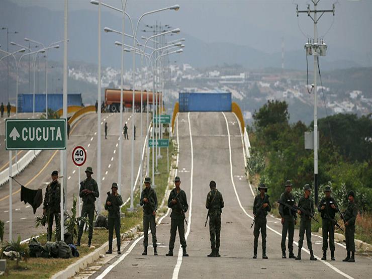 """""""بلومبرج"""": العنف على الحدود الفنزويلية الكولومبية ينذر باندلاع صراع"""