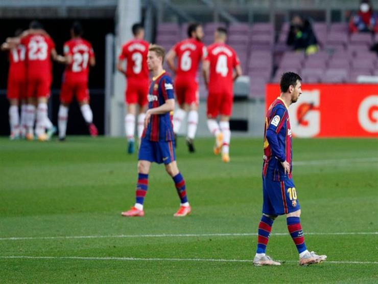 """""""الليجا تشتعل"""".. برشلونة يفرط في صدارة الليجا بالخسارة أمام غرناطة"""