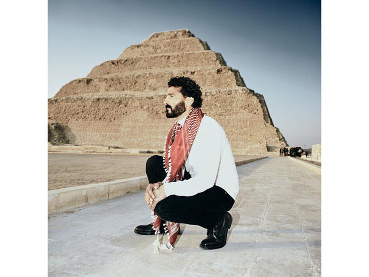 """""""مصر الحضارة"""".. أول تعليق من خالد النبوي بعد مشاركته في حفل نقل المومياوات"""