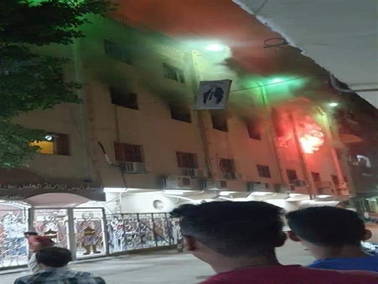 الكنيسة القبطية تكشف تفاصيل حريق كنيسة مارمينا في العمرانية