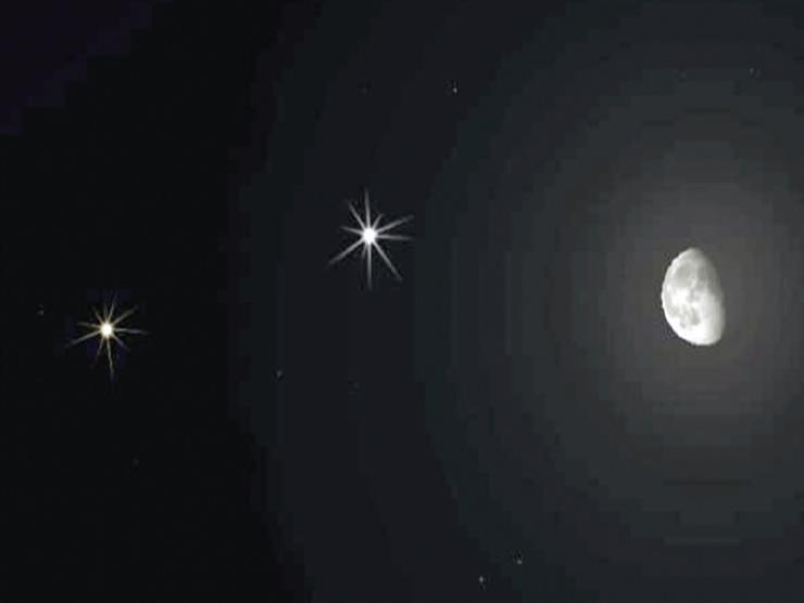 ظهور قمر وكوكبين.. تفاصيل أول ظاهرة فلكية لشهر أبريل غدا