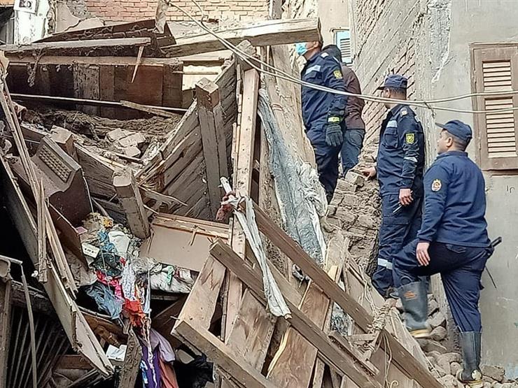 سقوط 3 وفيات في انهيار عقار بميت غمر في الدقهلية