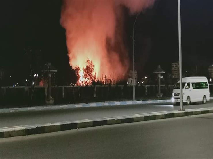 """السيطرة على حريق في """"الروض القديم"""" بالسويس"""