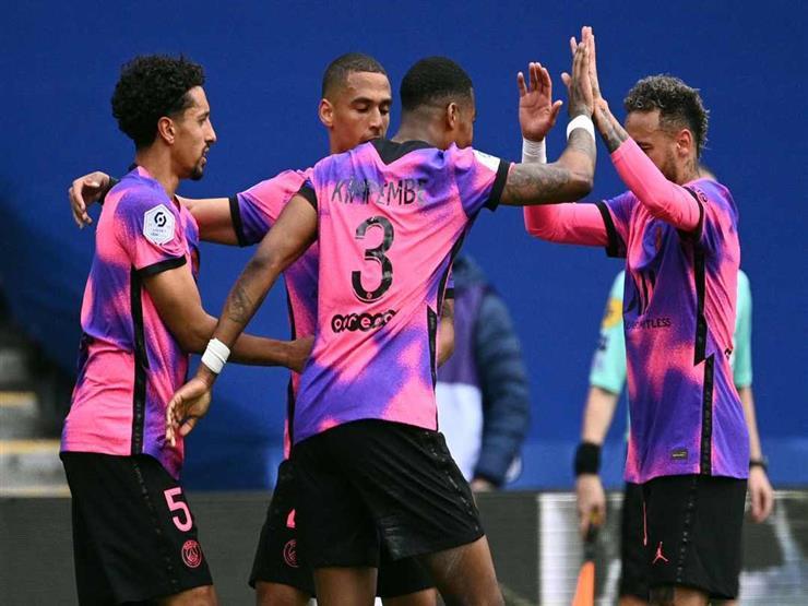 سان جيرمان يفوز على لنس ويتصدر الدوري الفرنسي مؤقتا