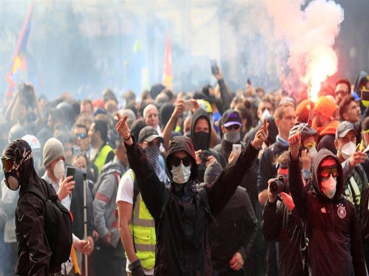 صدامات عنيفة خلال مظاهرات عيد العمال في برلين