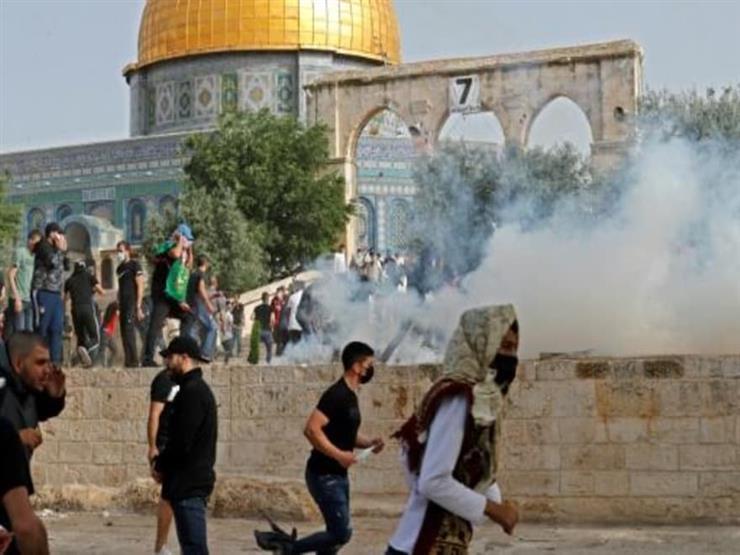 حقوق إنسان البرلمان: إسرائيل ترتكب جرائم حرب بالمسجد الأقصى