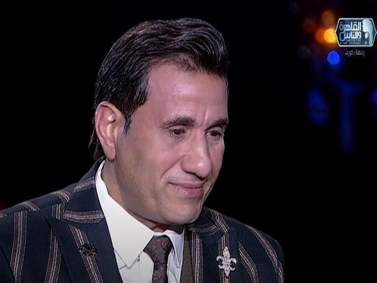 """أحمد شيبة باكيًا: """"كان نفسي أبويا يشوفني وأنا ناجح""""- فيديو"""