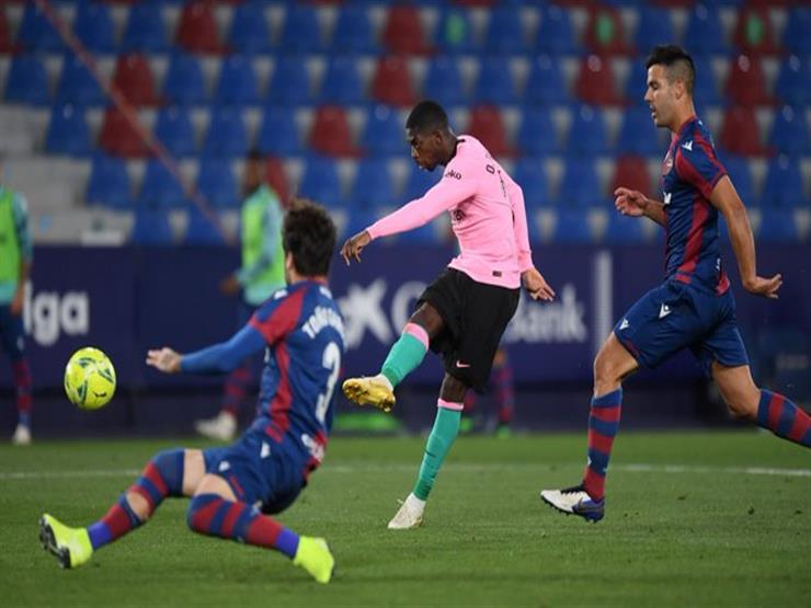 ليفانتي يقلب تأخره لتعادل أمام برشلونة ويفقده فرصة تصدر الليجا