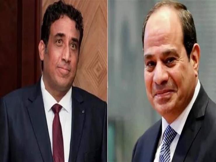 السيسي يهنئ رئيس المجلس الرئاسي الليبي بعيد الفطر