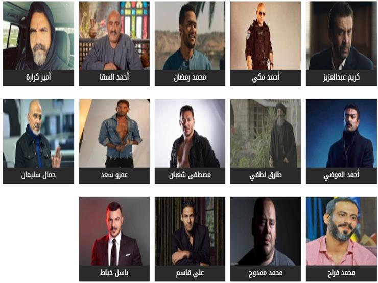 شارك في استفتاء مصراوي باختيار الأفضل بين نجوم رمضان