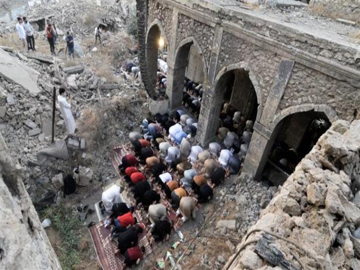 صلاة العيد تعود لمسجد دمرته الحرب على داعش في الموصل بالعراق