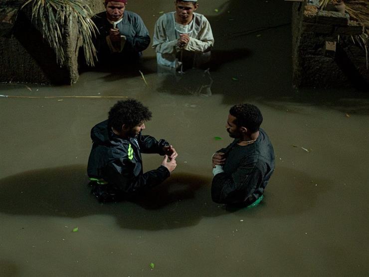 محمد سلامة يكشف كواليس تصوير مشهد الفيضان في مسلسل موسى