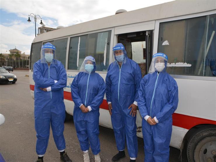 """الرعاية الصحية: الكشف على 3600 مصاب بـ""""كورونا"""" معزولين منزليًا في بورسعيد"""