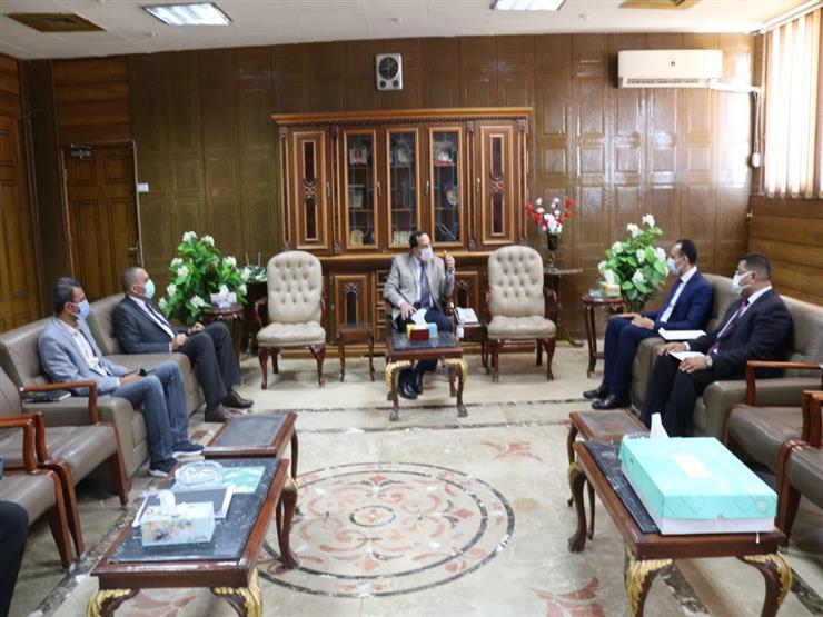 محافظ شمال سيناء يستقبل أعضاء البرنامج الرئاسي تأهيل التنفيذيين للقيادة