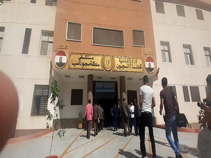 استقبال وفد من وسائل الإعلام المحلية والدولية في سجون المنيا
