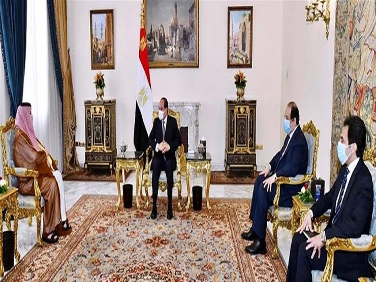 الرئاسة تكشف تفاصيل لقاء الرئيس السيسي وتركي آل الشيخ