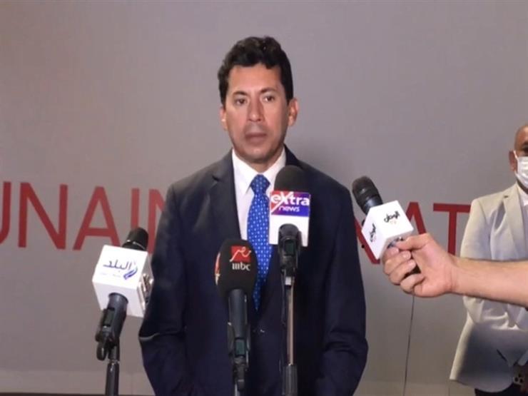 بعد زيارة كورونا.. وزير الرياضة يتابع تطورات البعثة المصرية في طوكيو