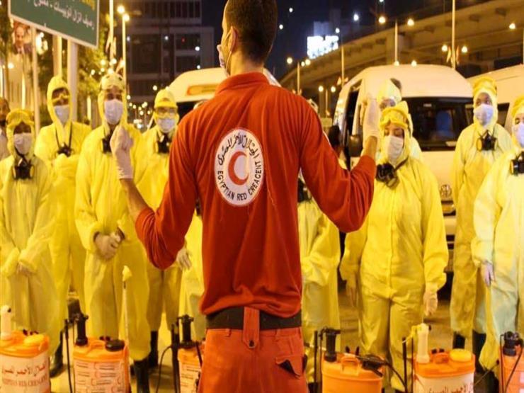 بالفيديو.. مبادرة لمواجهة كورونا بالهلال الأحمر في دمياط