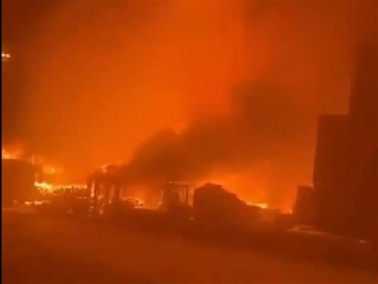 اندلاع حريق جنوب إسرائيل