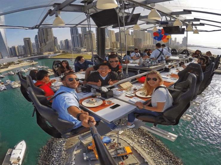 """""""غداء في السماء"""".. 4 مطاعم مختلفة عليك تجربتها في دبي"""