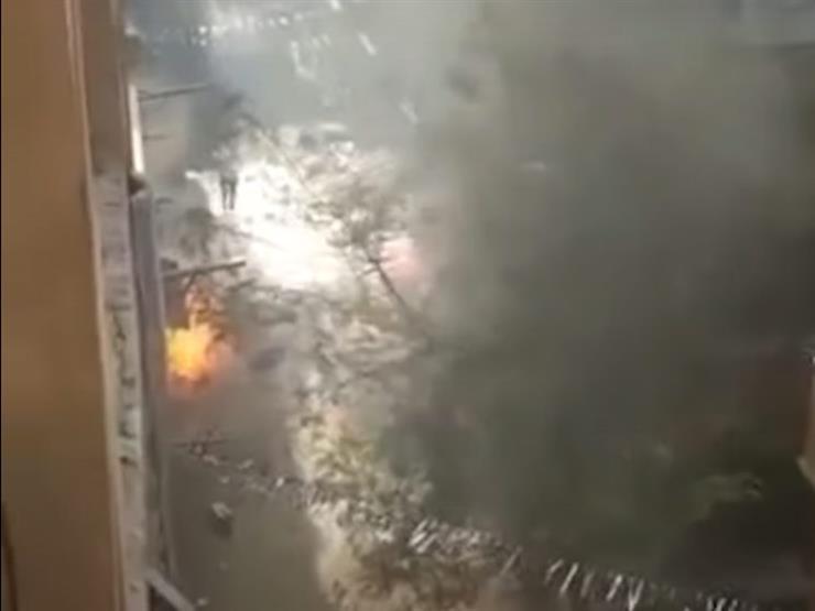 بالفيديو| لحظة انفجار أنابيب مخبز دار السلام ومصرع 4 عمال