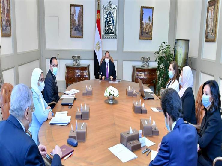 توجيهان جديدان من السيسي بشأن مشروع تنمية الأسرة المصرية