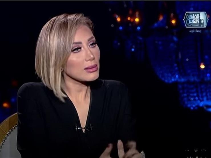 """ريهام سعيد: """"لو زوجى طلب مني اعتزال التمثيل هرفض.. وممكن أترك الإعلام"""""""
