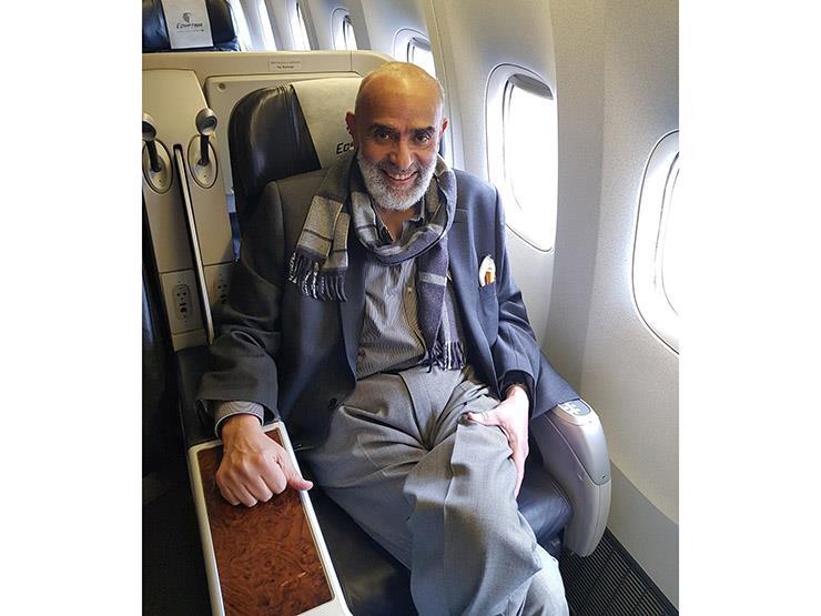 """""""تجربة سيئة جدًا"""".. أول تعليق لرجل الأعمال أشرف السعد بعد خروجه من سجن الإسكندرية"""