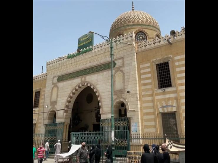 بحضور نائبا عن الرئيس.. شعائر صلاة الجمعة الأخيرة من مسجد السيدة نفيسة - بث مباشر