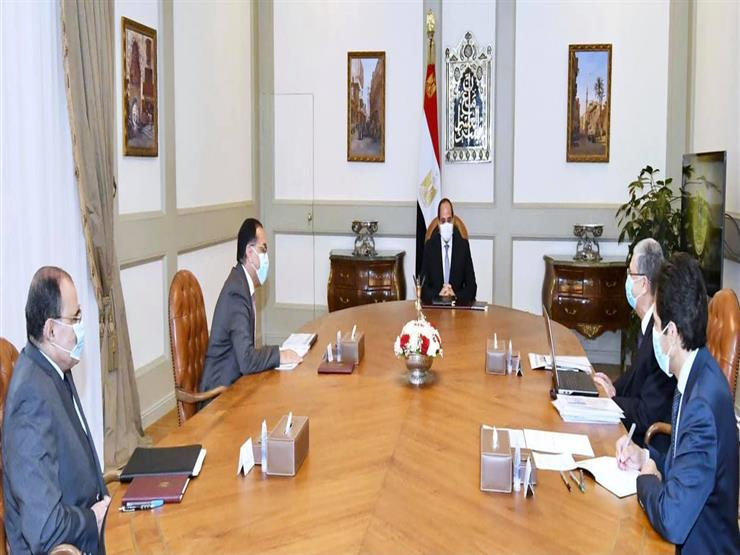 الرئيس السيسي يتابع المشروعات القومية لوزارة الكهرباء على مستوى الجمهورية