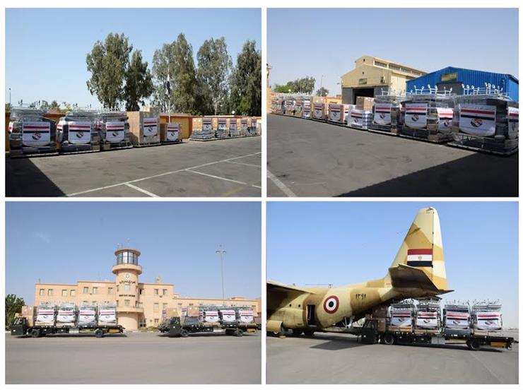 بتوجيهات من الرئيس.. مصر ترسل كميات كبيرة من المساعدات الطبية إلى الهند