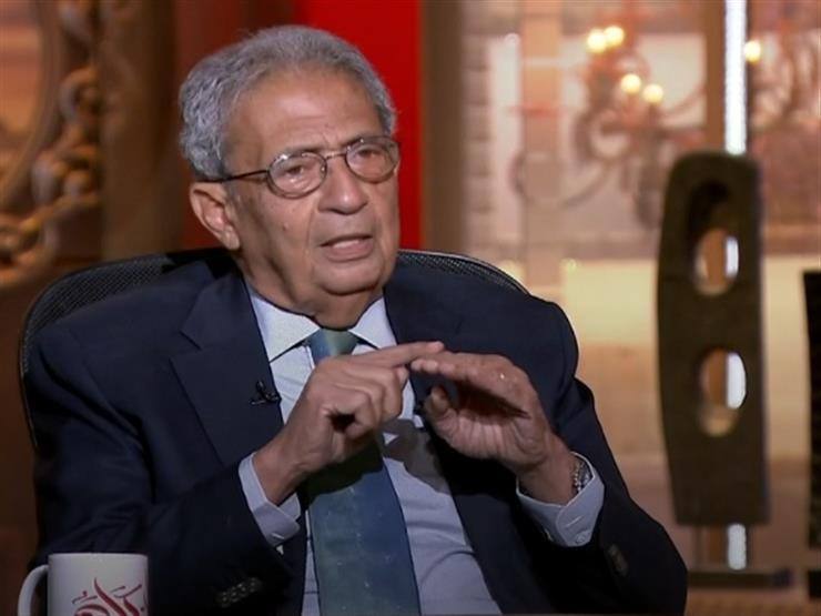 """عمرو موسى: لا بد من التعامل مع القضية الفلسطينية على أنها """"جرح"""""""