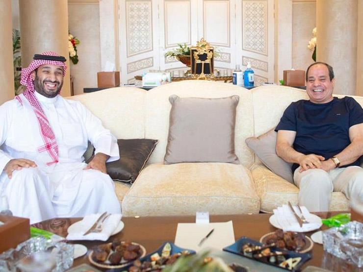 الرئيس السيسي يلتقي ولي العهد السعودي في شرم الشيخ