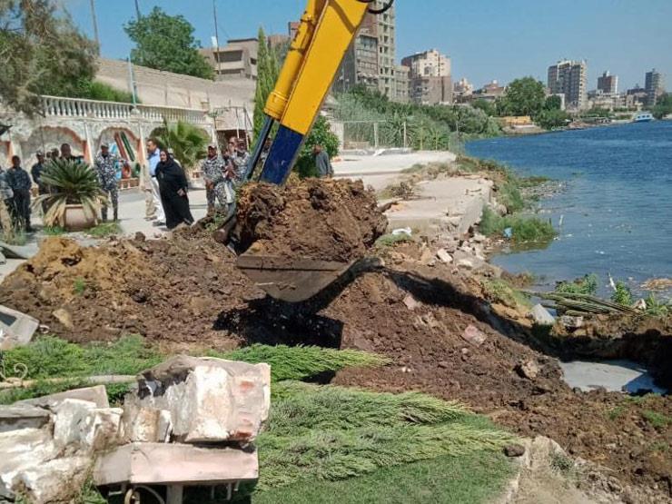 الري: نعُاقب المتعدي على النيل بإزالة التعديات على حسابه