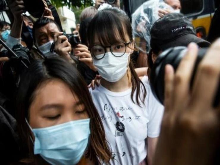 سلطات هونج كونج تفرج عن ناشطة مؤيدة للديموقراطية في ذكرى الحركة