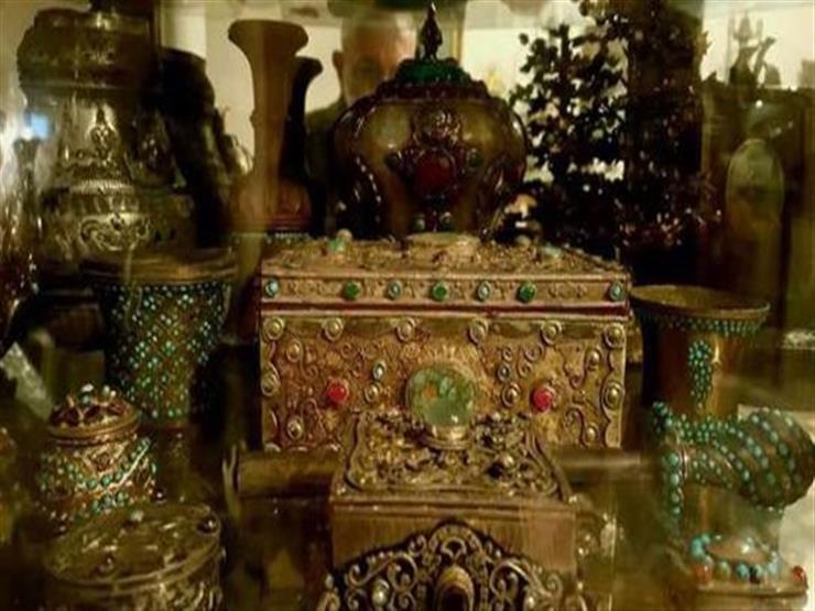 """أثريات من عصور قديمة وإسلامية.. المضبوطات الكاملة في كنز """"شقة الزمالك"""" (فيديو)"""