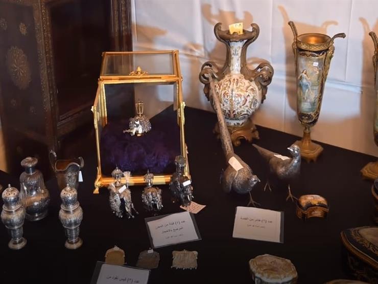 مصطفى وزيري: بعض القطع الأثرية في شقة الزمالك تعود لأكثر من 2500 سنة