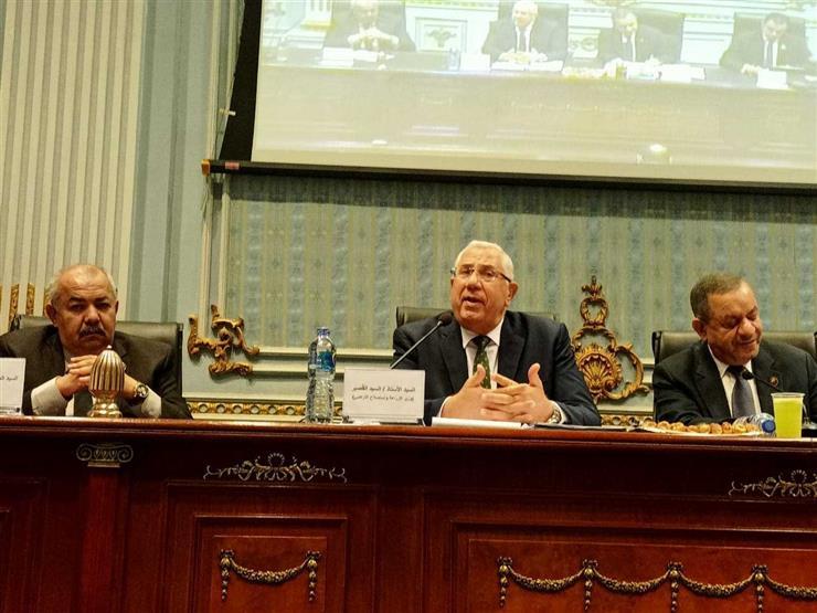 """وزير الزراعة أمام """"الشيوخ"""": تمويل مشروع البتلو وصل لأكثر من 5 مليارات جنيه"""