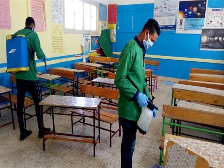 تطهير لجان امتحانات الثانوية العامة في شمال سيناء