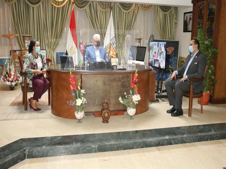محافظ جنوب سيناء يبحث استعدادات انطلاق مشروع التأمين الصحي الشامل