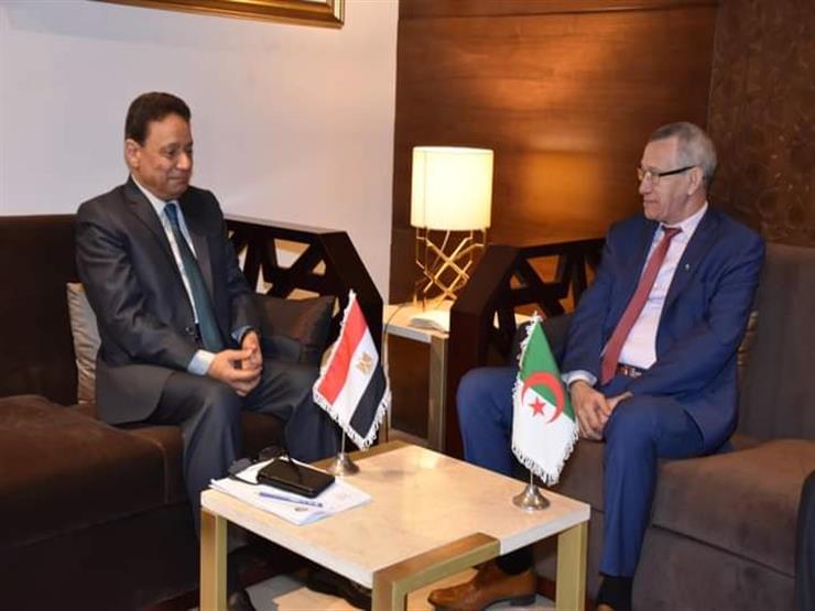 """خلال لقائه مع """"كرم جبر"""".. وزير الاتصال الجزائري يشيد برؤية الرئيس السيسي للحفاظ على الدولة الوطنية"""