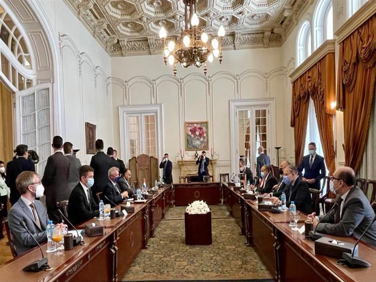 شكري يؤكد عمق علاقات التعاون بين مصر ولوكسمبورج