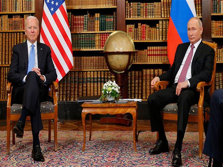 """""""نافالني ومعاهدة ستارت والعداء القديم"""".. ماذا قال بوتين خلال مباحثاته مع جو بايدن؟"""