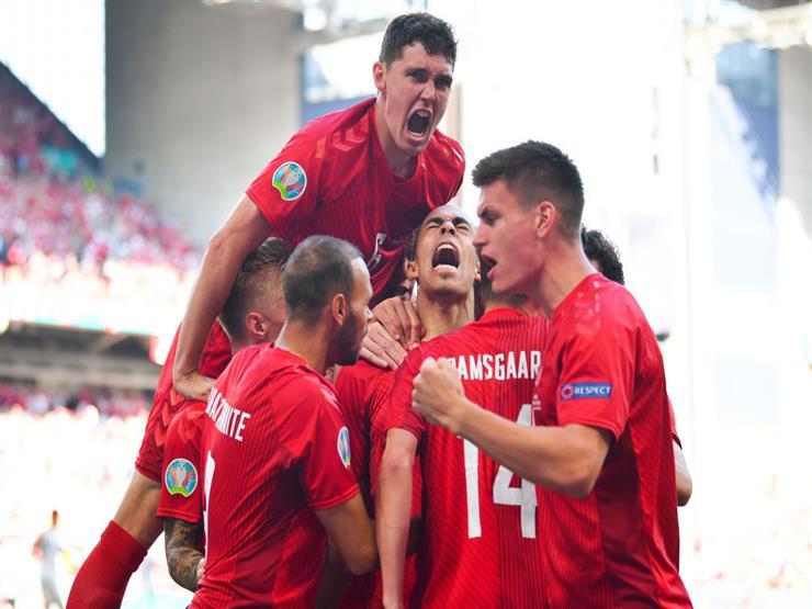 بالفيديو.. لاعب الدنمارك يسجل ثاني أسرع هدف في تاريخ اليورو