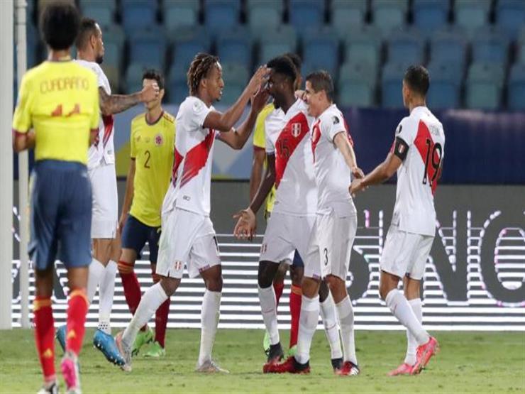 بيرو تفوز على كولومبيا وتنعش آمالها في كوبا أمريكا