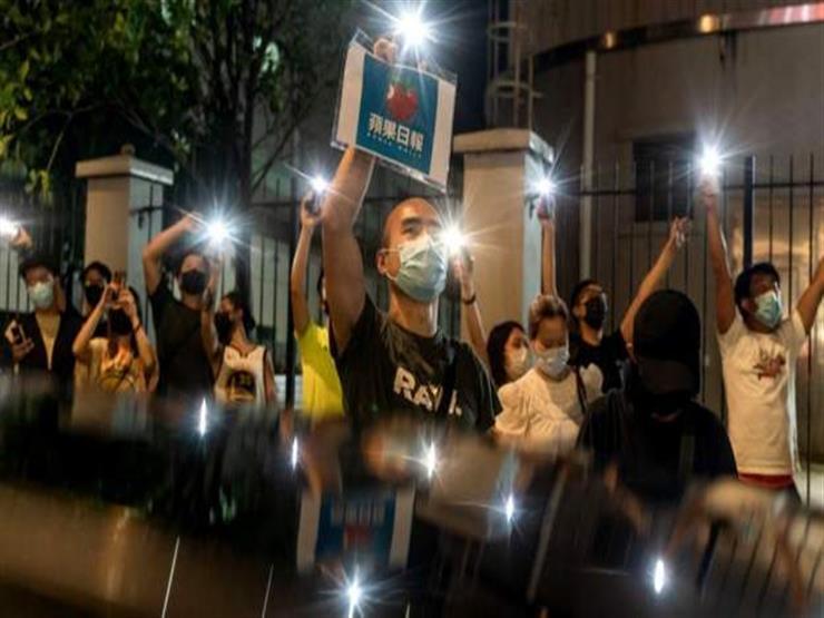 """هونج كونج تودع بألم وأسى صحيفة الحرية """"أبل ديلي"""""""