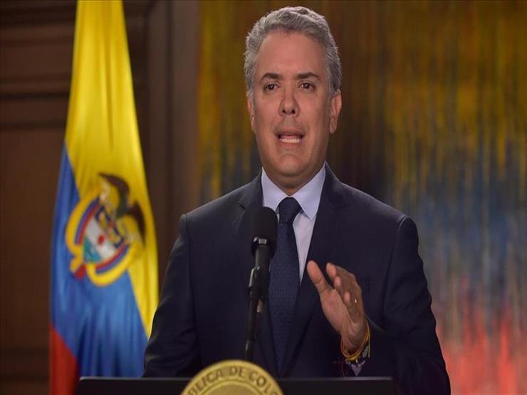 إطلاق النار على مروحية تقل رئيس كولومبيا