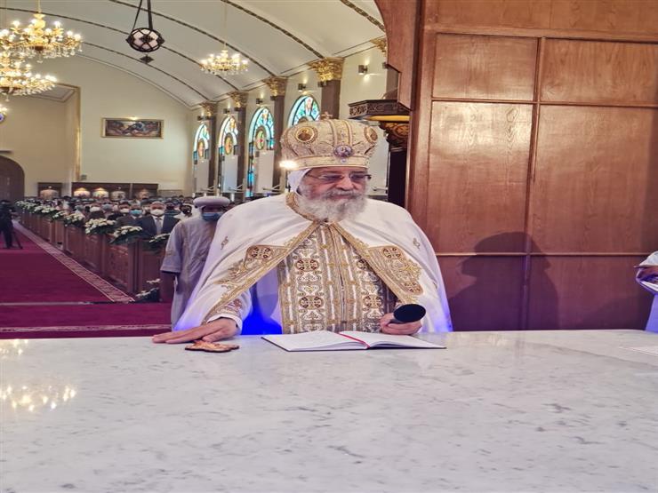 السبت.. البابا تواضروس يدشن كنيسة القديسين بالإسكندرية