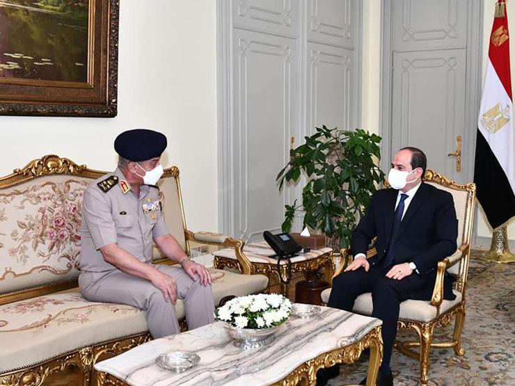"""وزير الدفاع يهنئ الرئيس السيسي بـ""""عيد الأضحى"""": مستعدون للدفاع عن مقدرات ومكتسبات شعب مصر العظيم"""